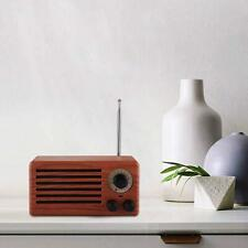 Wireless Bluetooth Speaker for Phone Tablet iPad & Retro FM Radio Music Player
