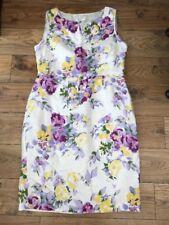 Ladies Laura Ashley Occasion Dress / Linen / Size 16 / Pretty ❤️