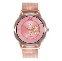 Smartwatch Diamant IPS HD Display Damen Uhr Herzrate Blutdruck Sauerstoff Wetter