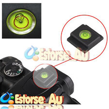 New Flash Hot Shoe Cover Cap Bubble Spirit Level For Nikon Canon Pentax Olympus