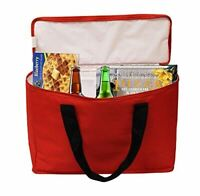 Earthwise Insulated Grocery Bag Tote Extra Large Heavy Duty Nylon Cooler Zipper