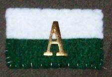 AIF WW1 AUSSIE ARMY ANZAC A DEVICES - ONE PAIR REPRO BRASS