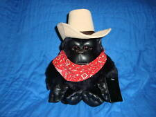 24K Ploar Puff Special Effects Plush Cowboy Ape/Gorilla