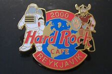 HRC Hard Rock Cafe Reykjavik Millenium Logo FC Parry Viking Warrior XL Fotos