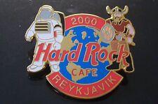 HRC Hard Rock Cafe Reykjavik Millenium Logo FC Parry Viking Warrior XL Fotos