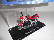 TRIUMPH 955 SPEED TRIPLE SUPERBIKES ATLAS IXO 1:24