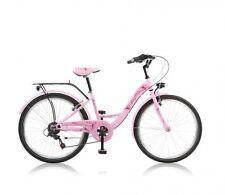 24 Zoll Kinderfahrrad Cityfahrrad Mädchenfahrrad Kinder City Fahrrad Rad Bike