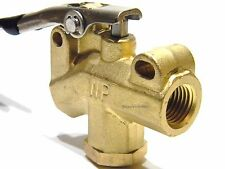 """Carpet Cleaning 1/4"""" Brass Angle Valve for Wand and hoses WP"""
