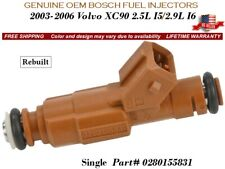 1 Fuel Injector OEM Bosch for 2003-2006 Volvo XC90 2.5L I5/2.9L I6 #0280155831