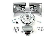 Harley panhead shovelhead headlight assembly cowl handlebar clamp cover new flh