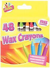 Artbox 48 wachsmalstifte set of 48 ausgewählte farben mit schärfer 5082