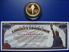 2000 Gold one ounce NORFED matched medallion & certificate set - VERY RARE