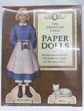 The American Girls Collection 1992 Paper Dolls Kirsten And Missy In 1854 B27