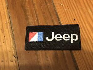 JEEP CHEROKEE WAGONEER WRANGLER CJ5 CJ7 AMC JEEP BLACK JACKET SHIRT HAT PATCH