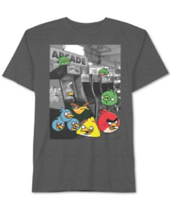Angry Birds Boys' 8-20 Angry Arcade T-Shirt, Size X-Large, Retail $18.00