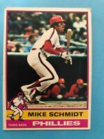 1976 Topps Baseball Card #480 Mike Schmidt Philadelphia Phillies HOF