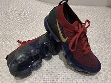 Nike Air Vapormax Flyknit 2.0 Team Red/Obsidian/Blue/Maroon, UK Size 10 - Vapour