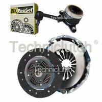 NATIONWIDE 2 PART CLUTCH KIT WITH LUK CSC FOR RENAULT MEGANE HATCHBACK 1.6
