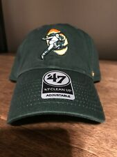 Green Bay Packers Retro Logo '47 Brand Clean Up Cap Hat
