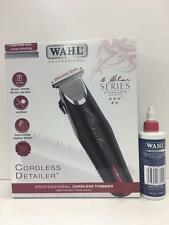 Wahl Cordless Detailer +Free WAHL CLIPPER OIL- Same Day Dispatch-UK PLUG
