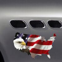 American Flag Sticker USA Bald Eagle Car Truck Laptop Window Decal Bumper New