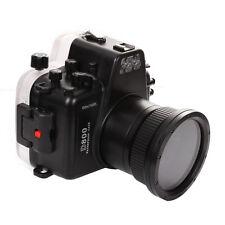 MeiKon 60m 195ft Underwater Waterproof Housing Case for Nikon D800 105mm F2.8