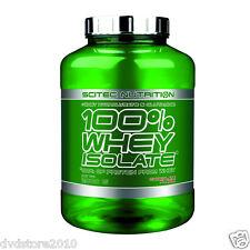 PROTEINE Scitec 100% WHEY Protein ISOLATE 2000GR 2KG Zero Carboidrati CIOCCOLATO