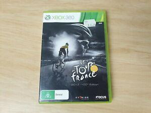 Le Tour de France 2013-100th Edition - Xbox 360 Game AUS PAL manual