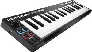 CLAVIER MAITRE  USB MIDI 32 MINI TOUCHES M-AUDIO KEYSTATION MINI 32 MK3