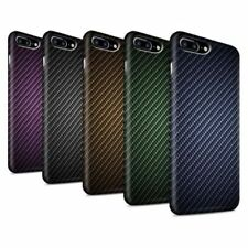 Housses et coques anti-chocs iPhone 8 en fibre de carbone pour téléphone mobile et assistant personnel (PDA)