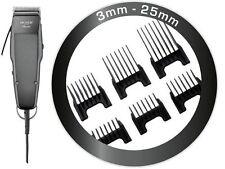 MOSER cortapelos profesional 1400 Edición + 6 PEINETAS Insertables