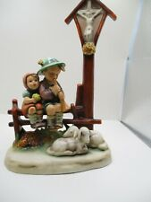 Hummel Goebel Wayside Devotion #28 Tmk 3 Hand Painted Made In Germany