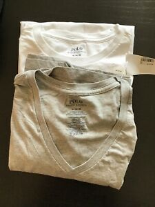 9 New Polo Under Armour Armani Tee Shirts Navy White Grey XL Medium Large