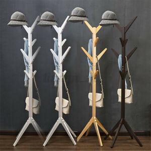 Garment Coat Hat Clothes Rack Tree Hanger Umbrella Storage Shelf Stand Hold