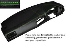 GREEN STITCH DASH DASHBOARD SKIN COVER FITS VW GOLF MK4 4 IV BORA JETTA 98-05