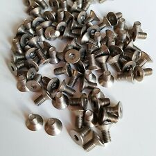 M3x6mm titanium screws 100pcs (Forged Grade 2)