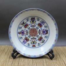 Chinese old porcelain Blue and white Plates decoration