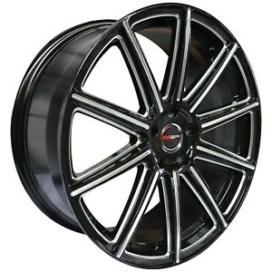4 G42 Mod 20 inch Black Rims ET20 fits MERCEDES-BENZ ML350 (163) 2003 - 2005