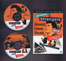 Hitchcock'S Strangers On A Train 2 Disc Special Ed. (Dvd) Vg box / Vf-Nm discs