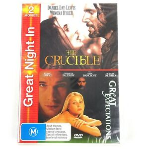 The Crucible and Great Expectations 2 DVD Set PAL NEW SEALED