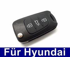 3Tasten Ersatz Klappschlüssel Gehäuse für Hyundai i10 i20 i30 ix35 ix20 Elantra