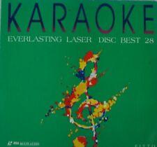 Karaoke Everlasting Laser Disc Best 28 FITTO LAV 8033 LP88