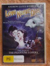 LOVE NEVER DIES(SEQUEL PHANTOM/OPERA) ANDREW LLOYD WEBBER DVD PG R4
