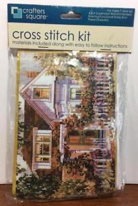 Crafters Square Cross Stitch Kit - Summer Splendor, NIP