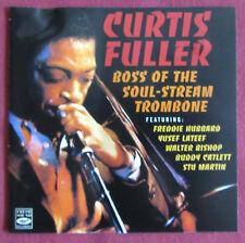 CURTIS FULLER   CD   BOSS OF THE SOUL STREAM TROMBONE
