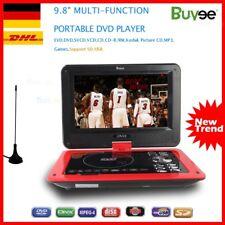 Tragbarer DVD Player Drehbar 9.8 zoll Portable USB/SD  Game Remote Controller