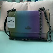 Coach Klare Crossbody Ombre! Brand New With Tags! Cross Grain Leather!