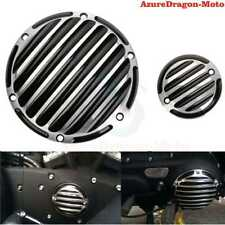 CNC Finned Derby Timing Timer Cover For Harley Sportster Iron 883 1200 48 72