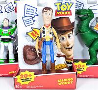 Toy Story Talking Woody, Talking Buzz, Talking Rex - You Choose Sets of 1-3