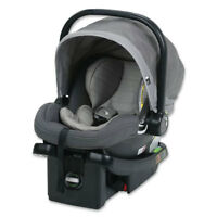 Baby Jogger City Go 4 to 35 Lbs Infant Baby Rear Facing Car Seat, Steel Gray
